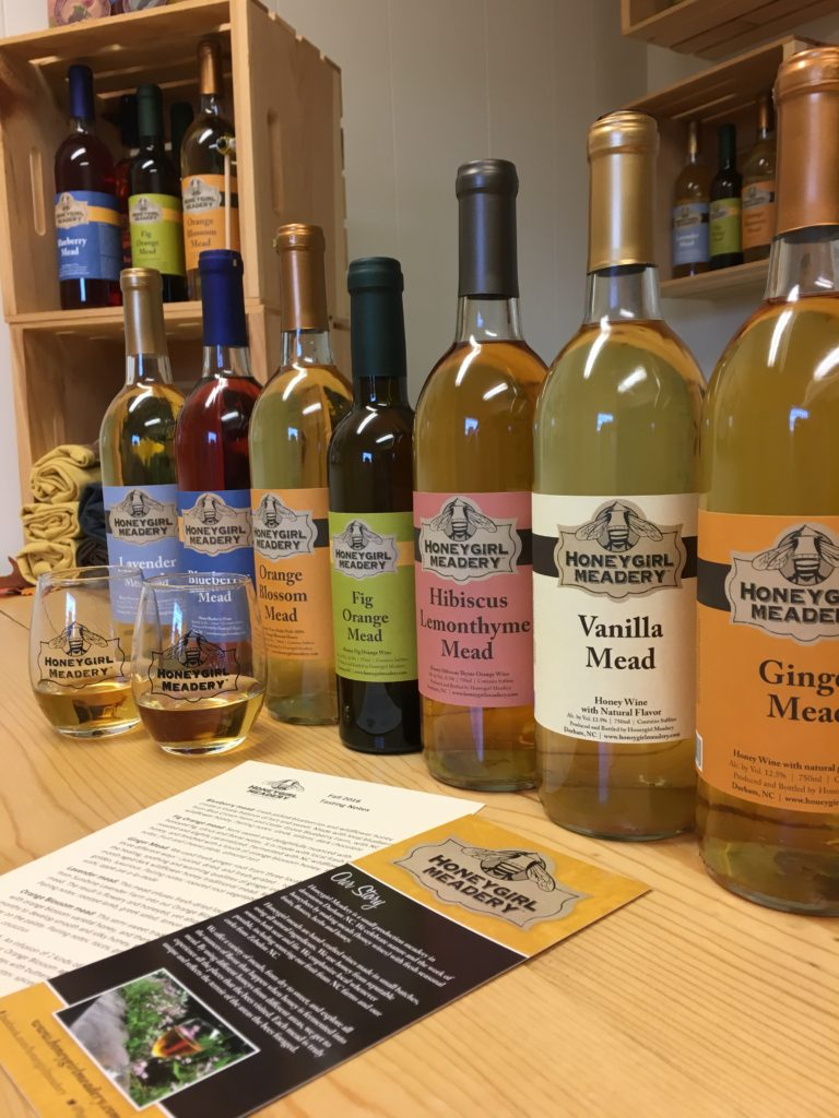mead tasting honeygirl meadery