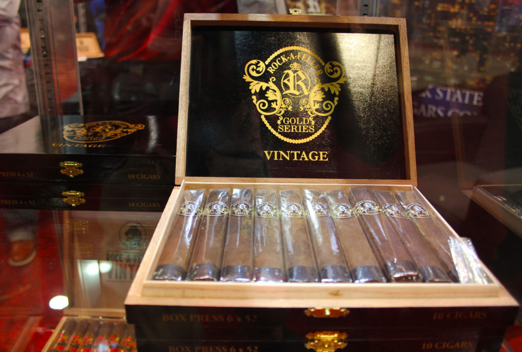 rock a feller in our humidor