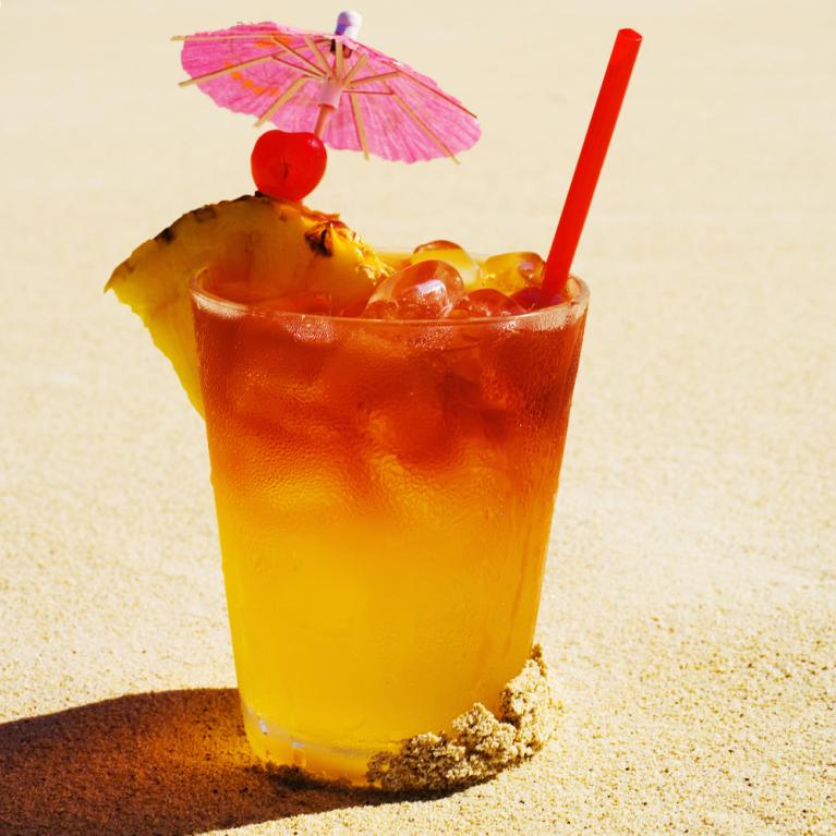mai tai umbrella drinks mixology