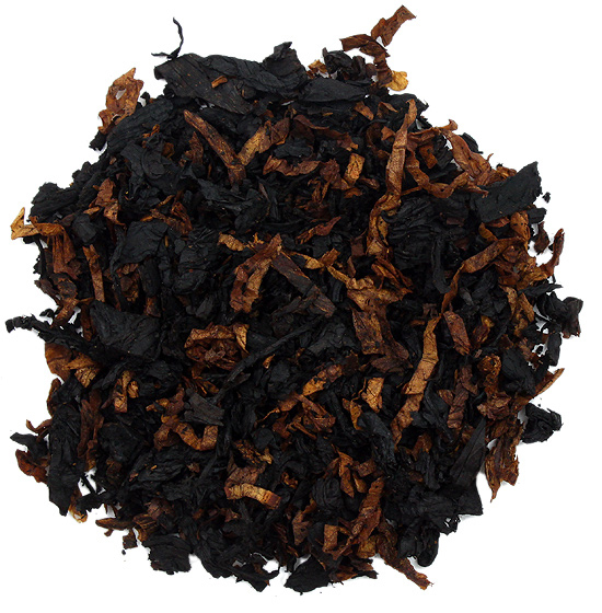 pipe tobacco smooth black and golden cavendish
