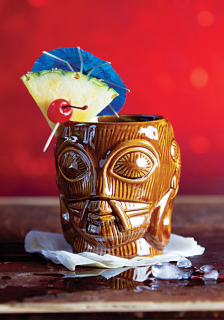 tiki bandit umbrella drinks mixology