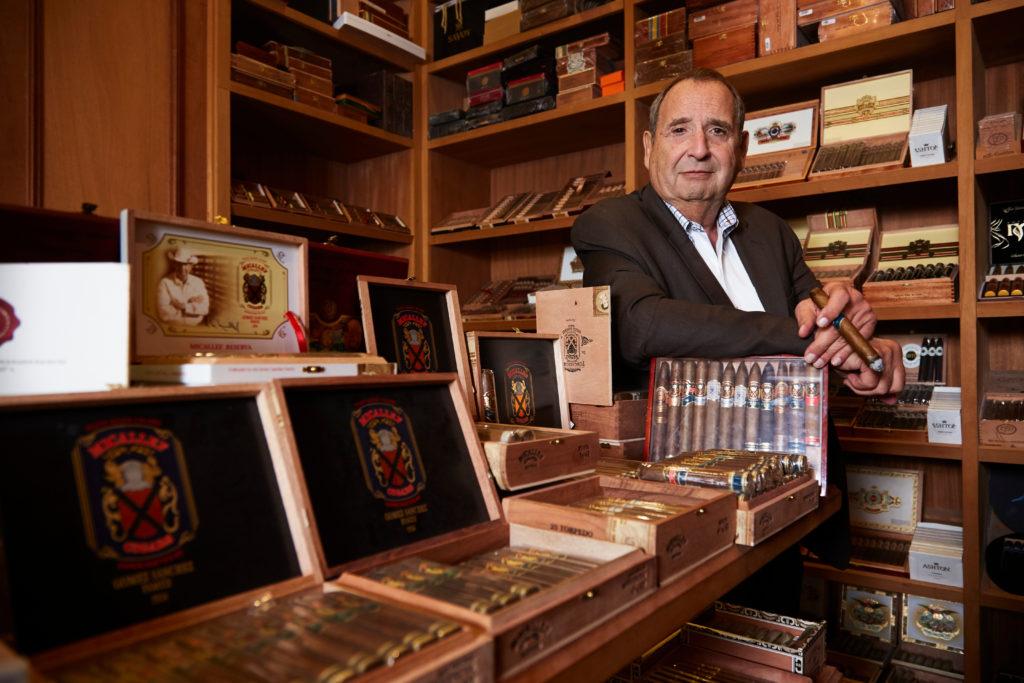 Al Micallef - cigar shop