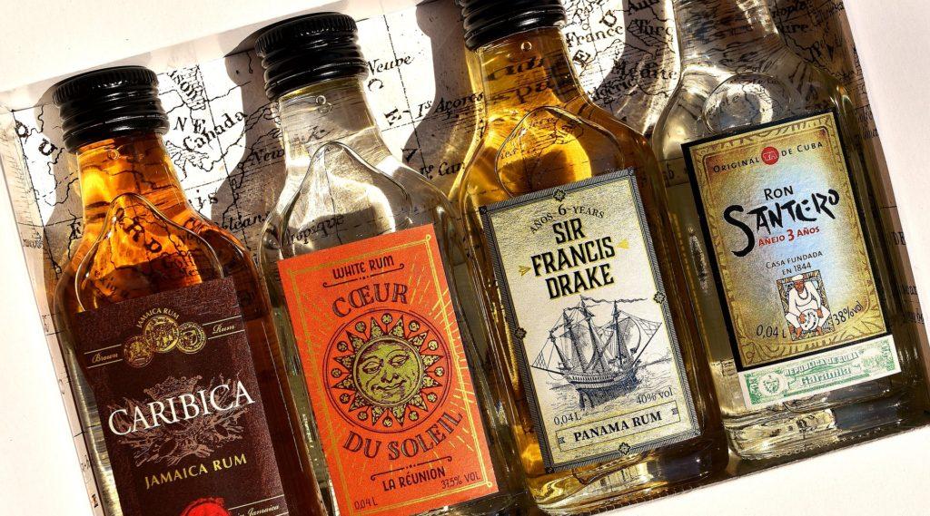 rum line up