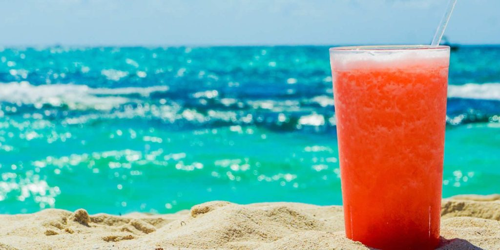 rum punch st lucia