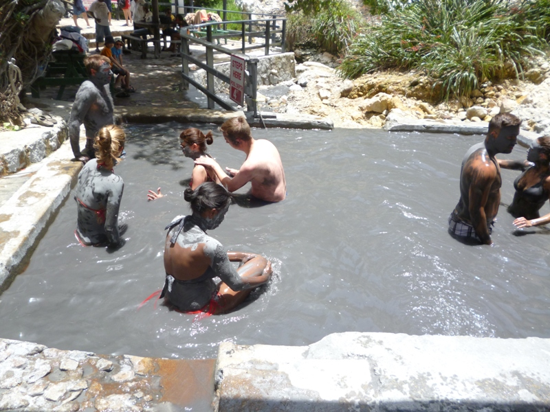 st lucia mud baths