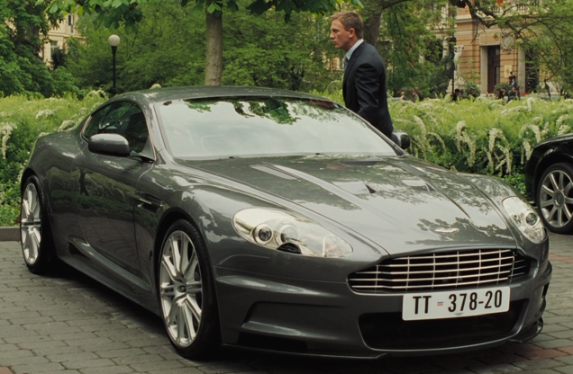 casino royale movie cars