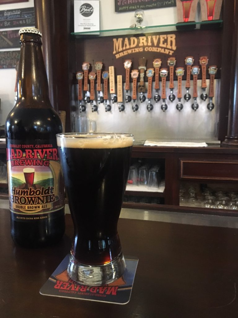 Humboldt Mad River Brownie Ale Review