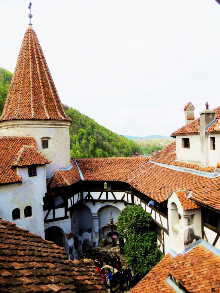 romania bran castle dracula inside