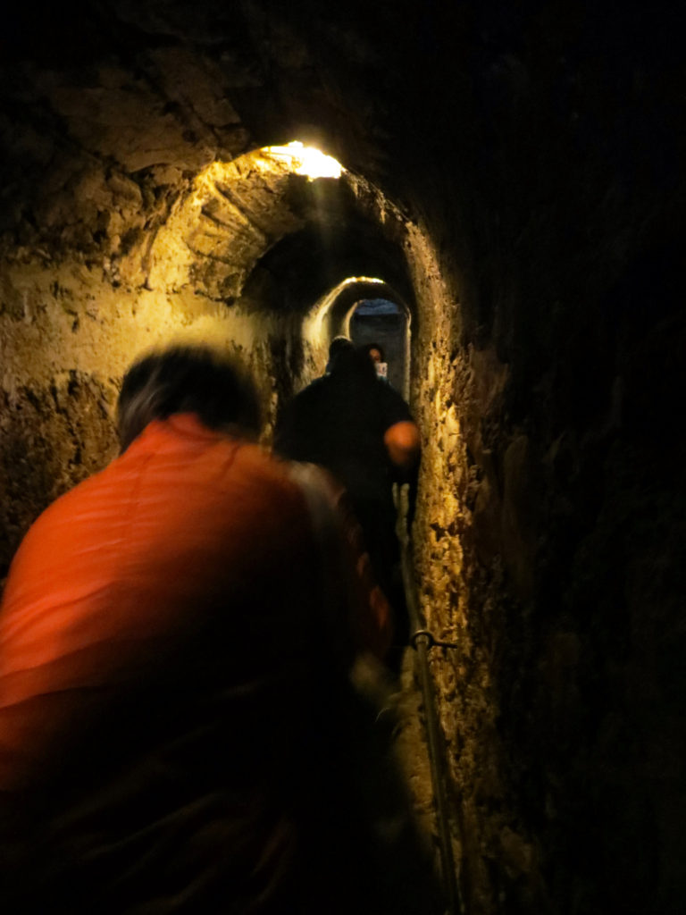 romania bran inside dracula hallway