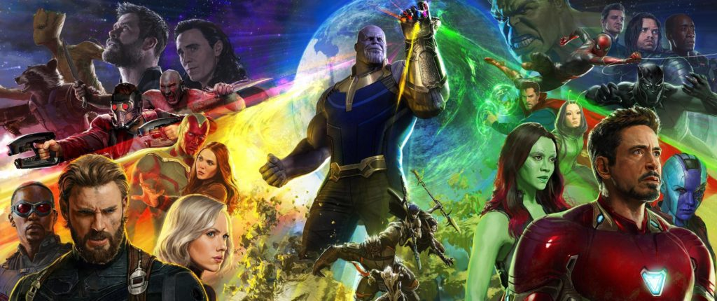avengers infinity war spring movie preview