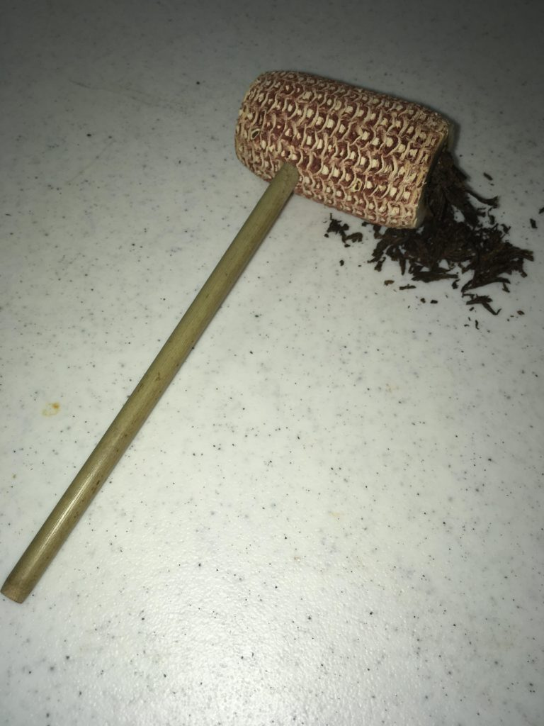 corncob Confessions of a newbie pipe smoker