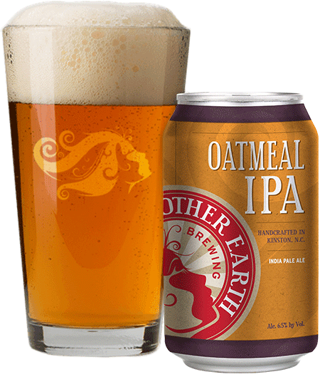 Oatmeal IPA Mother Earth nc beers and wine