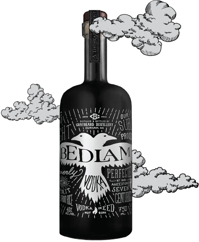 nc beers and wine bedlam vodka