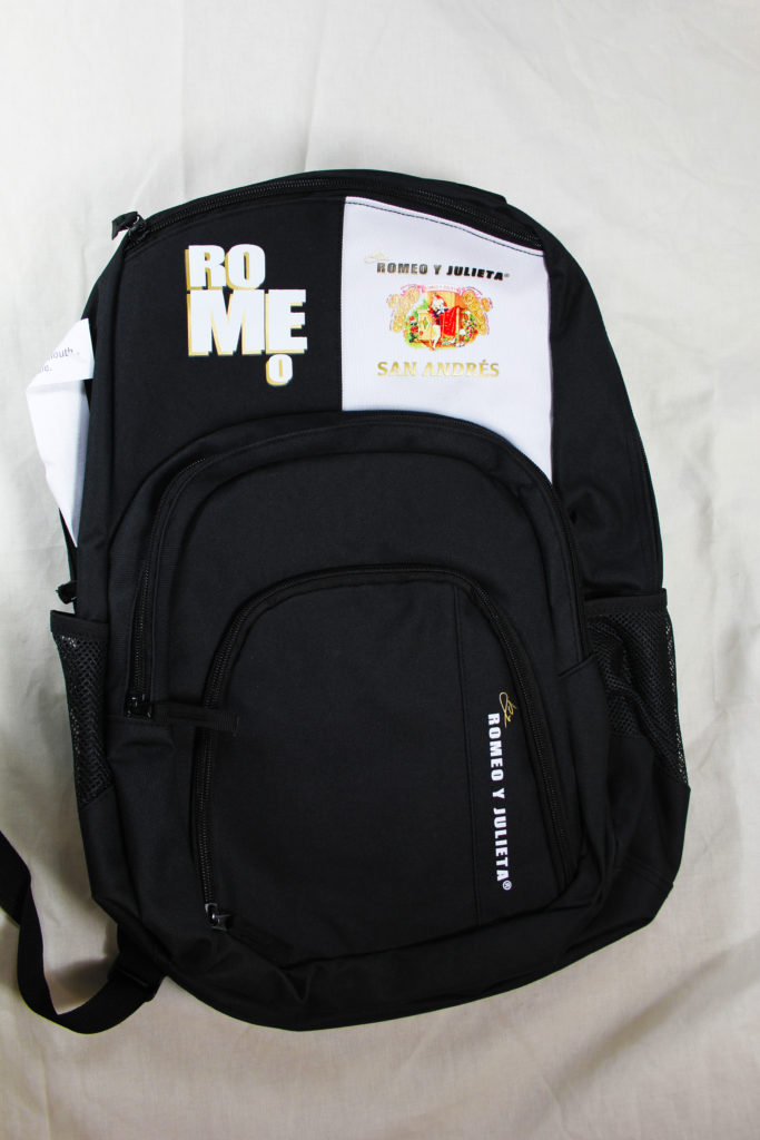 summer of giveaways altadis romeo backpack