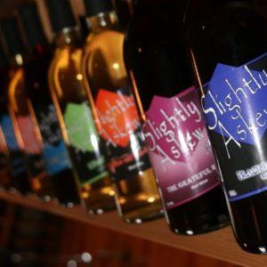 nc beers and wine slightly askew