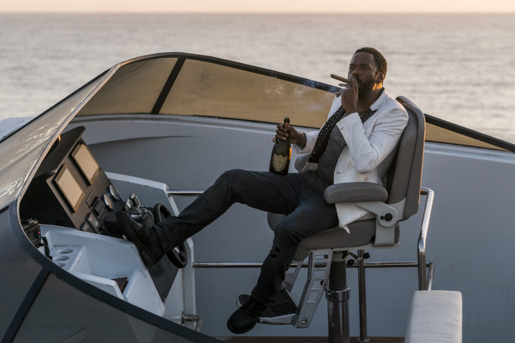 Colman domingo boat cigar