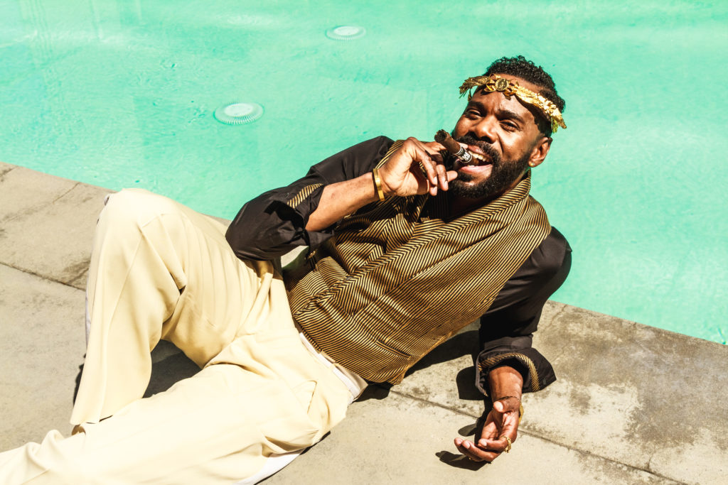Colman domingo smoking cigar