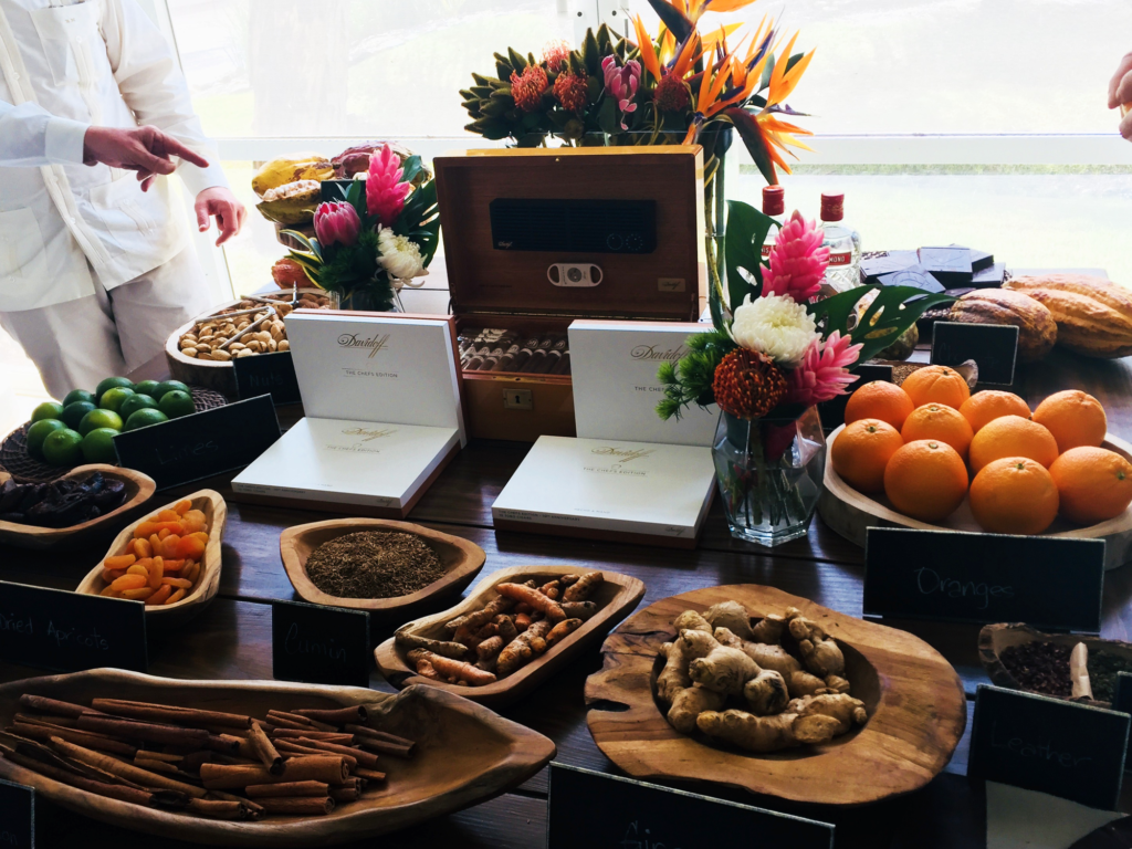 Media Reception2018 Sensoric Table davidoff chefs edition 2018