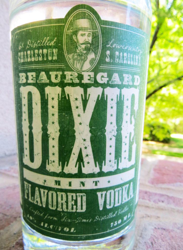 dixie mint vodka review logo