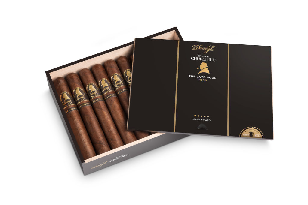 in our humidor Davidoff Cigars' Winston Churchill The Late Hour