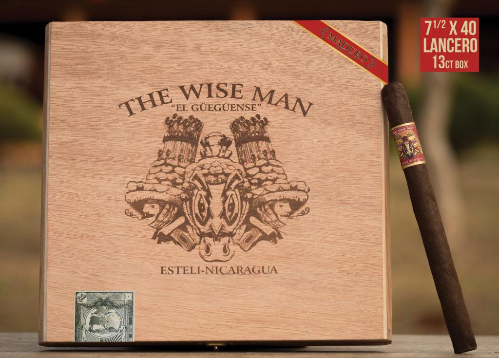 foundation cigar wiseman maduro lancero