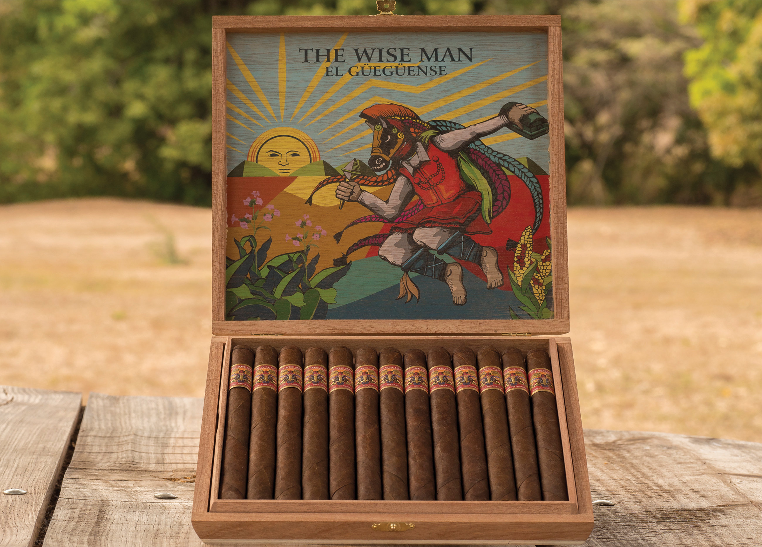 foundation cigar wiseman maduro lancero