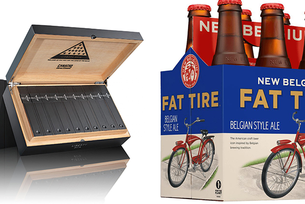 Cigar and Beer Pairings for 4th of July Camacho Liberty 2016 and New Belgium Fat Tire