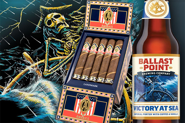 Cigar and Beer Pairings for 4th of July CAO Cigars America and Ballast Point Victory at Sea