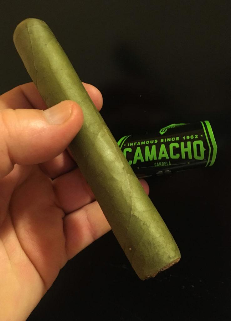 Candela cigars Camacho Robusto
