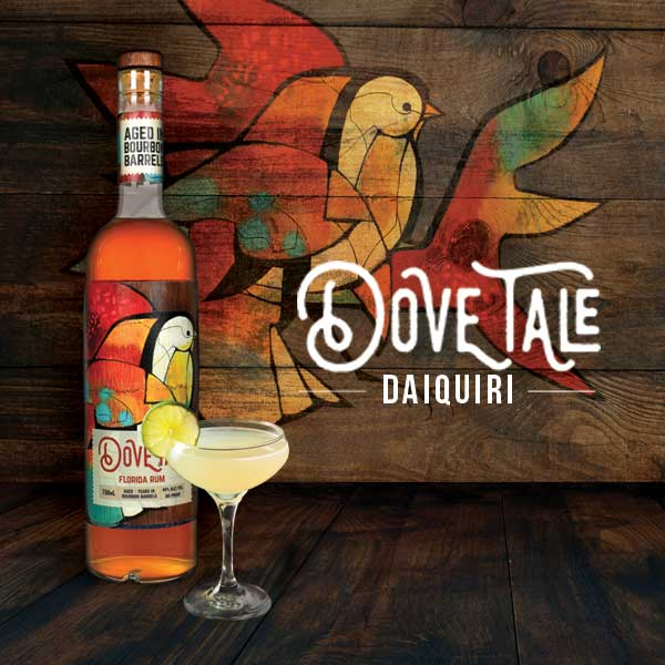 mixology monday Dove Tale rum daiquiri