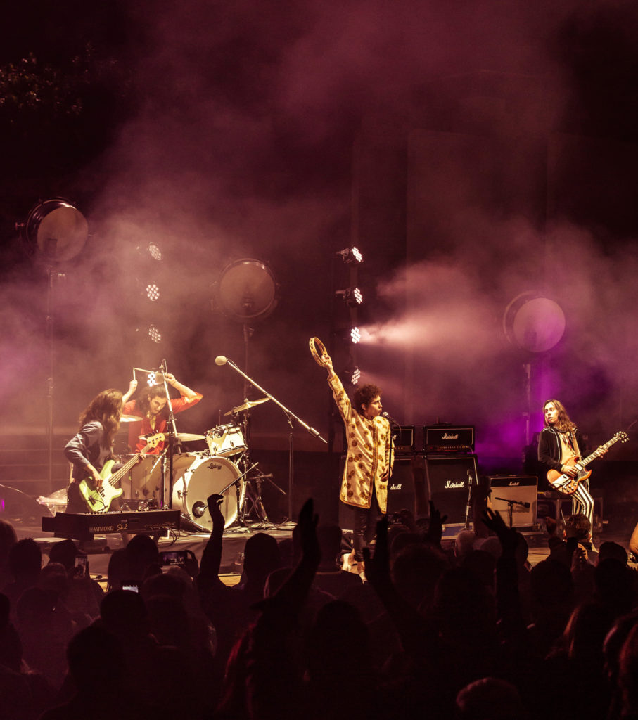 Greta Van Fleet - John Anson Ford Theatre, Los Angeles, 4/2018
