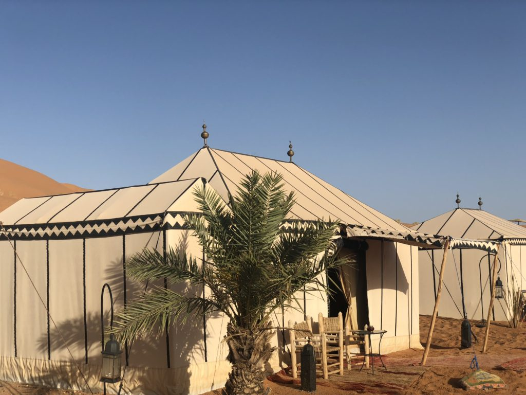 Morocco Sahara Tent