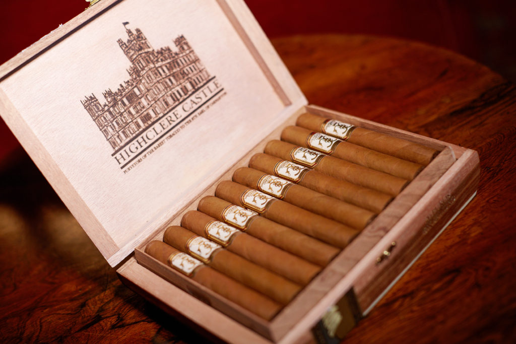 in our humidor highclere castle cigars