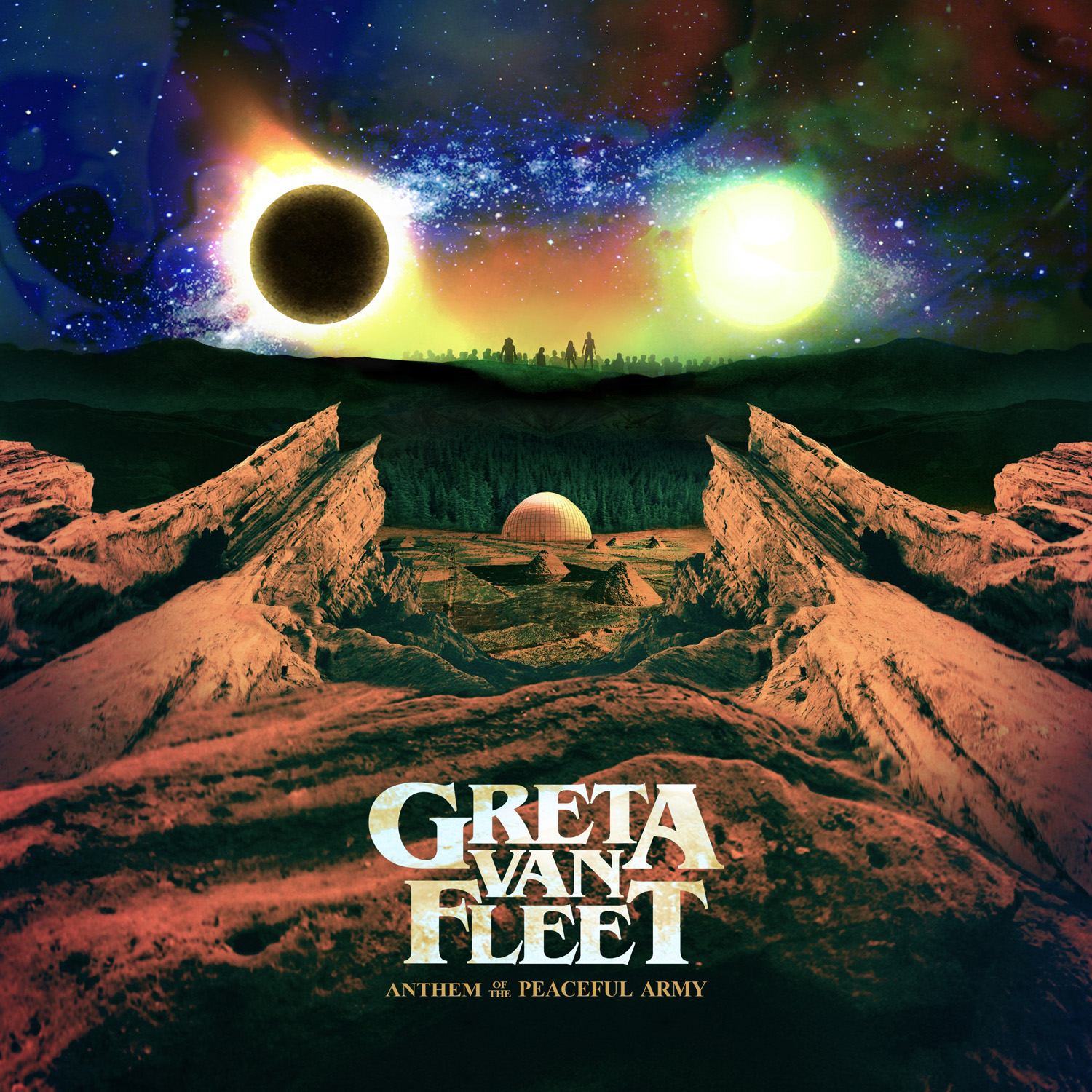 Anthem of the Peaceful Army CD Cover Art greta van fleet review