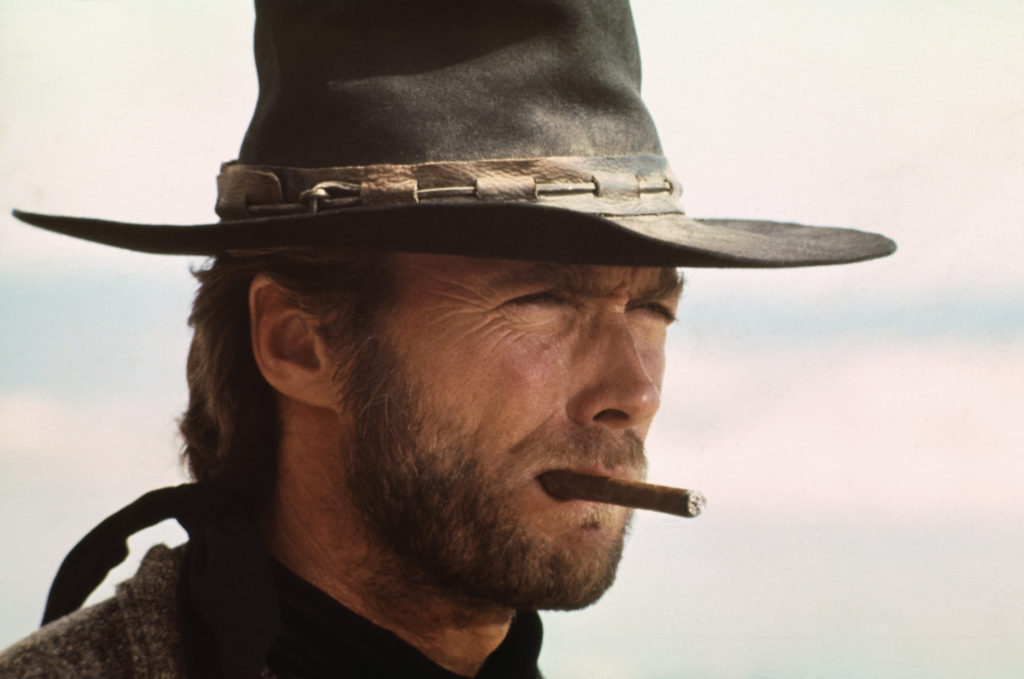 Readers choice awards cigar Clint Eastwood in High Plains Drifter