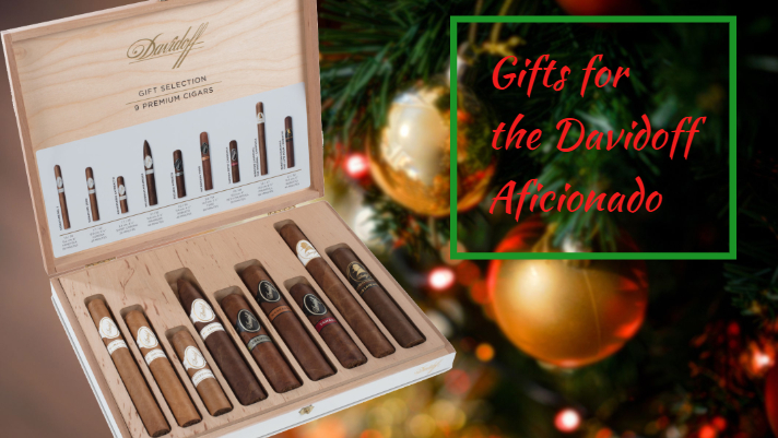Christmas gifts for the davidoff aficionado