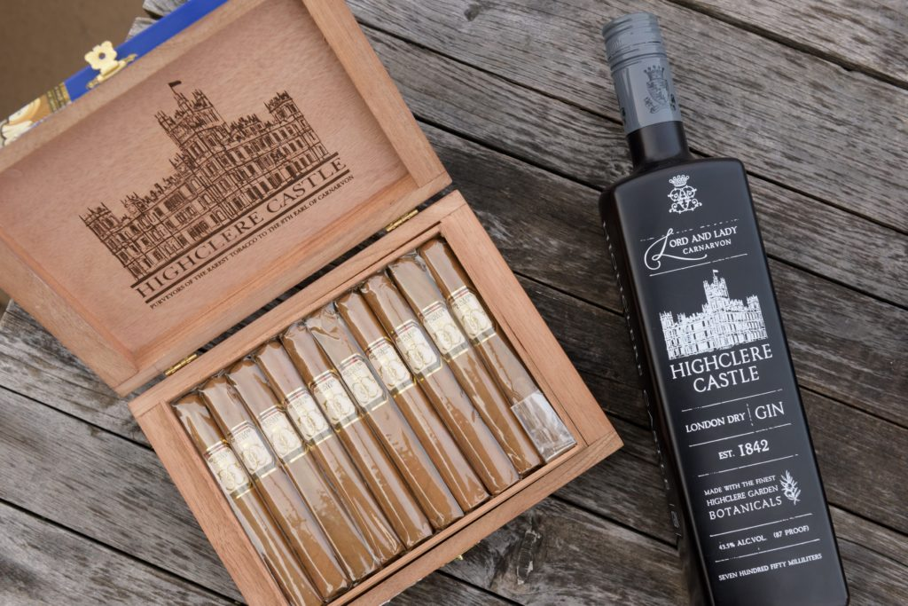 cigar news Highclere castle cigars Gin Launch 18