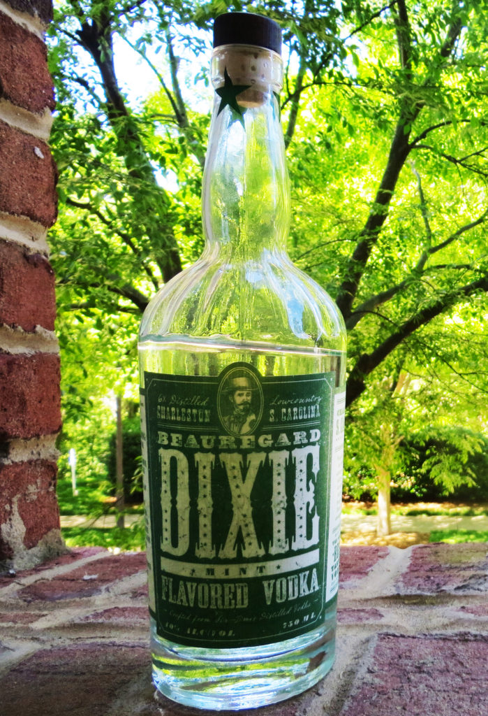 Mixology Dixie Mint vodka flavored