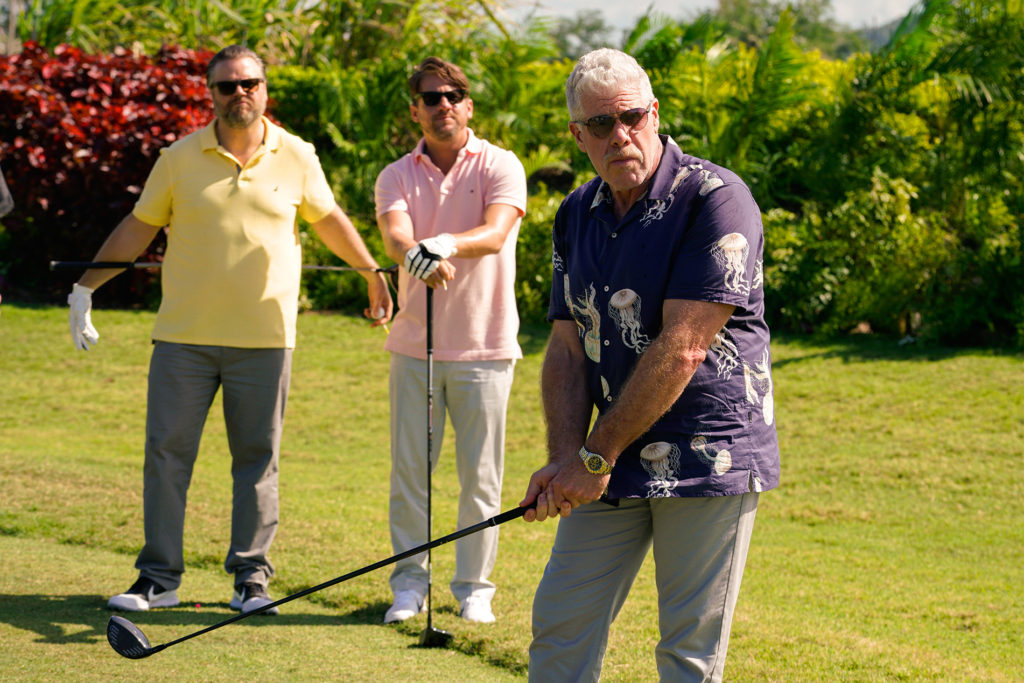 StartUp, Season 3, Episode 301, ron perlman golfing interview