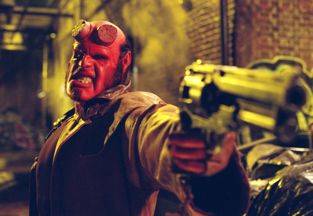 Ron Perlman interview Hellboy