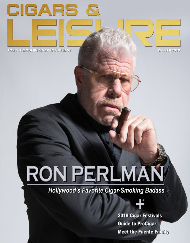 ron perlman cover cigars & leisure