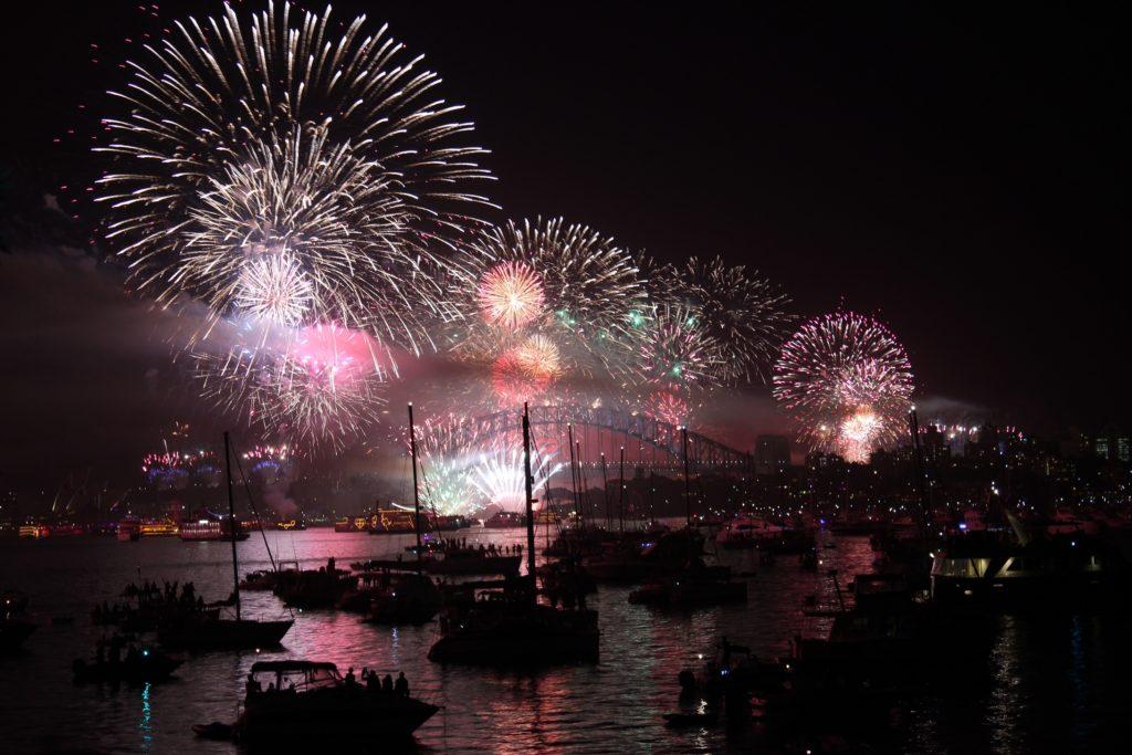 cigar news Sydney New Year's Eve fireworks 1