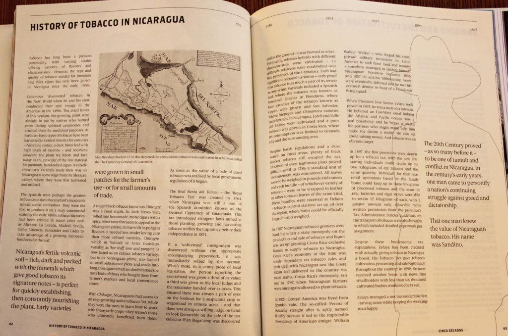 "Joya de Nicaragua ""Cinco Décadas: The Rise of the Nicaraguan Cigar"" review"