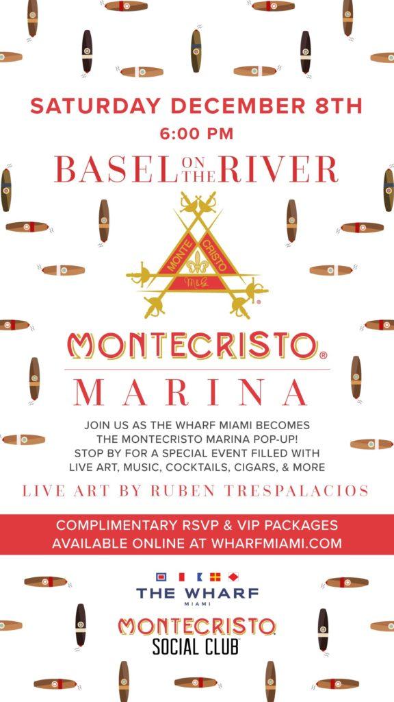 montecristo art basel event cigar news