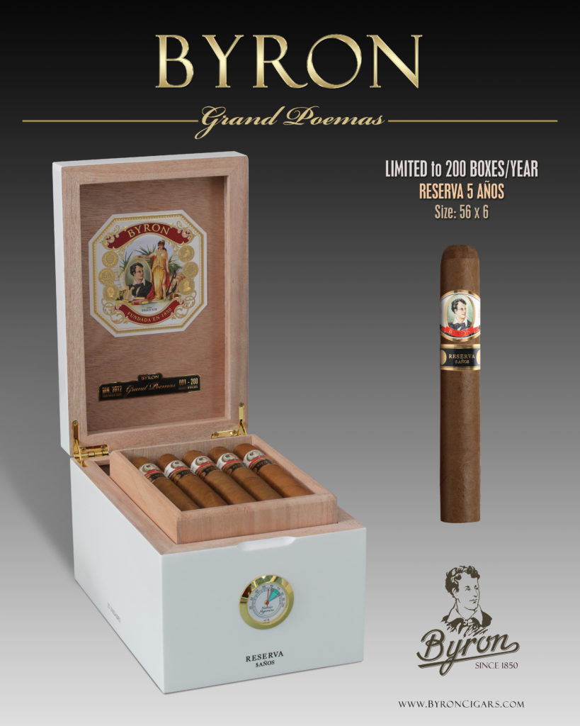 BYRON GRAND POEMAS united cigars cigar news