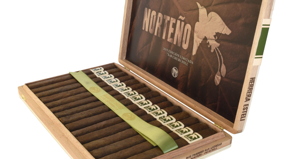 Drew Estate Shipping Herrera Esteli Norteño cigar news