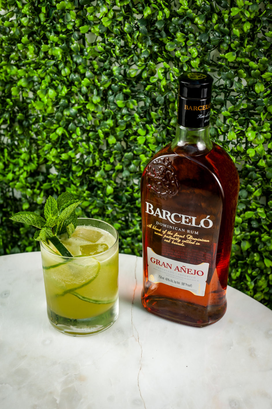 Pepino Hasta La Tambora ron barcelo cocktail