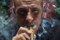 Rocco Mediate cigars golfer