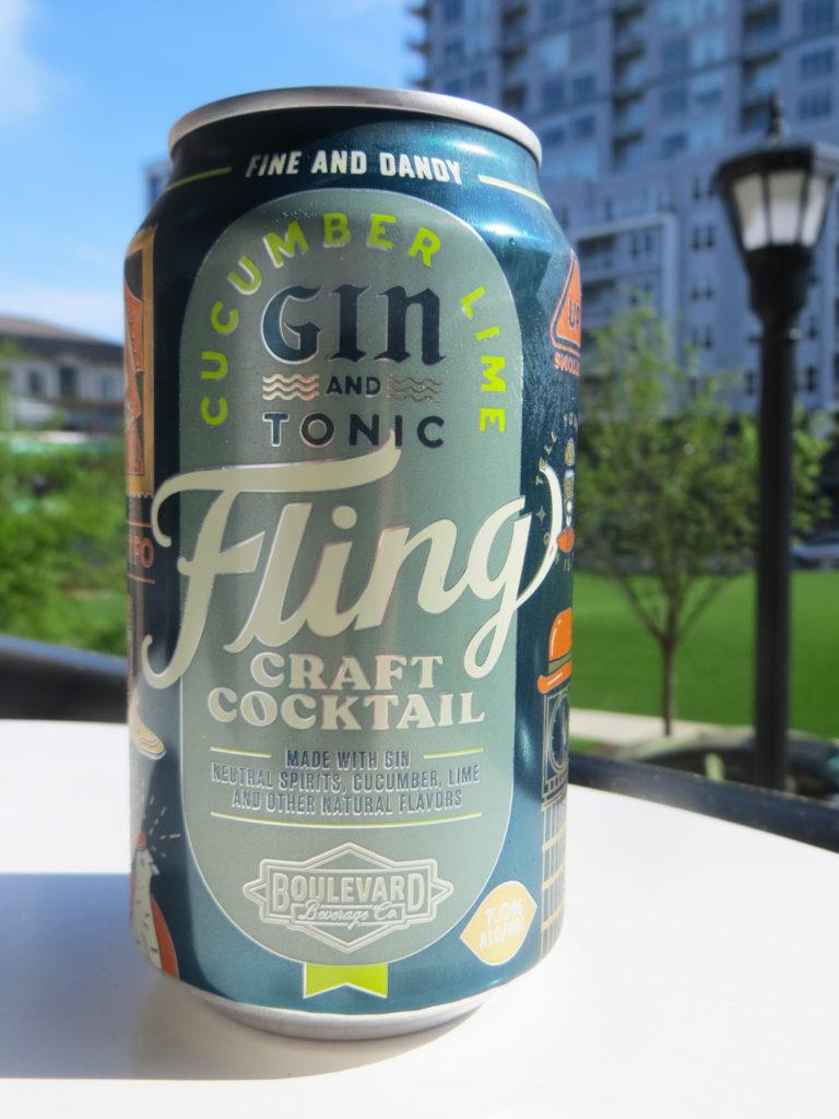 Boulevard Fling Craft Cocktails review
