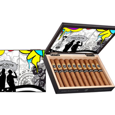 Two Guys Smoke Shop's Zino Platinum Exclusive Series Launches
